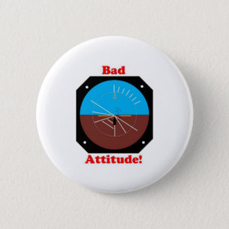 Bad Attitude 6 Cm Round Badge