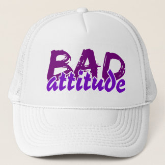 BAD ATTITUDE hat - choose color