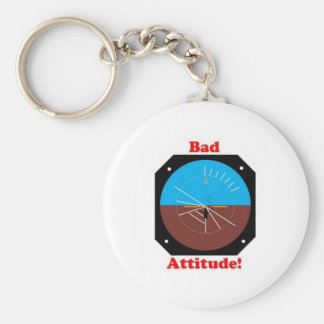 Bad Attitude Key Ring