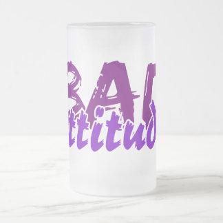 BAD ATTITUDE mug - choose style & color