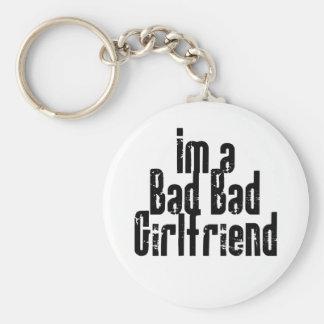 Bad Bad Girlfriend Keychain