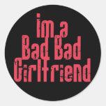 Bad Bad Girlfriend Stickers