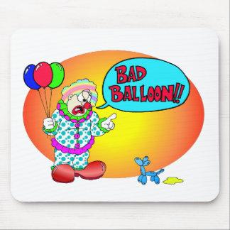 Bad Balloon Mouse Pad