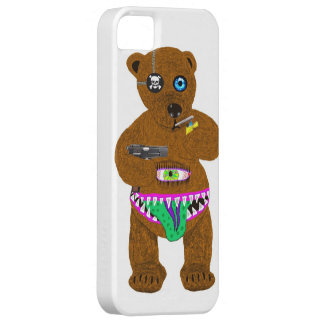 bad bear iPhone 5 case