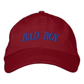 BAD BOY EMBROIDERED BASEBALL CAP