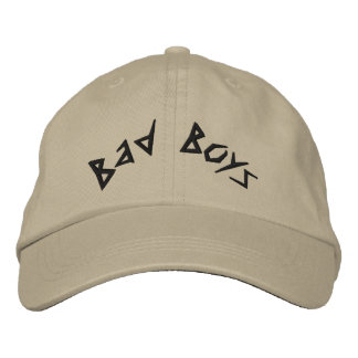 Bad Boys Embroidered Cap