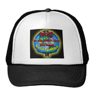 BAD Brain Addiction Disease Hats