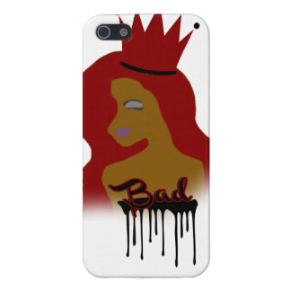 Bad Brown Chick iPhone 5/5S Cover