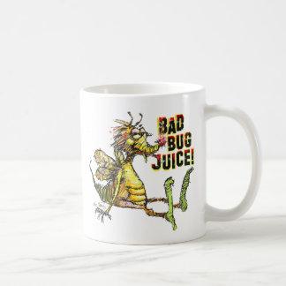 Bad Bug Juice Classic White Coffee Mug