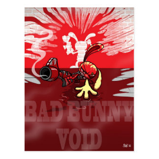Bad Bunny VOID Postcard