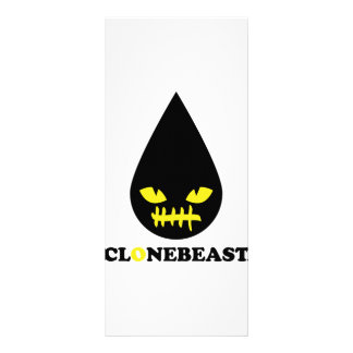 bad clonebeast smile personalized rack card