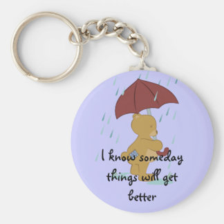 Bad Day Bear Keychain