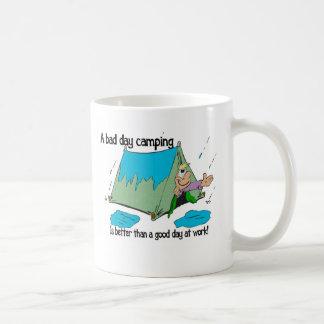 Bad Day camping Basic White Mug