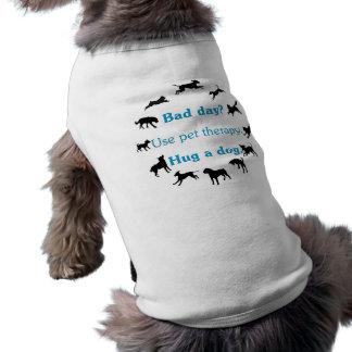 Bad Day Sleeveless Dog Shirt