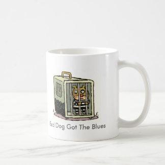 Bad Dog Got The Blues Coffee Mug