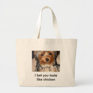 BAD DOG LARGE TOTE BAG
