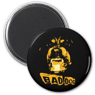 Bad Dog 6 Cm Round Magnet