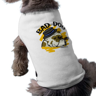 Bad Dog Sleeveless Dog Shirt