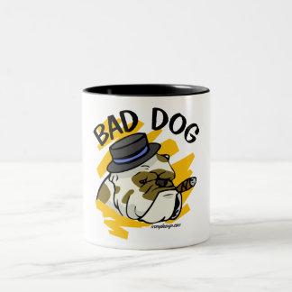 Bad Dog Two-Tone Mug