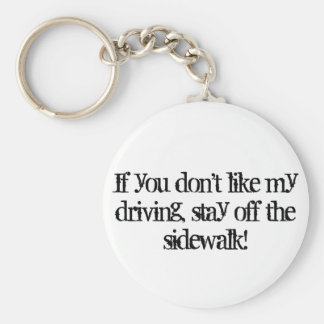 Bad Driver Keychain