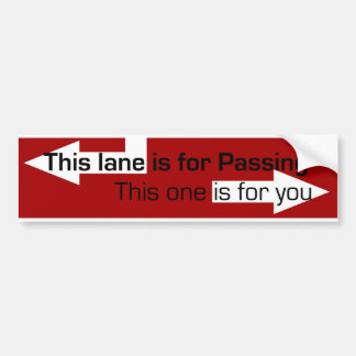 bad drivers bumper stickers