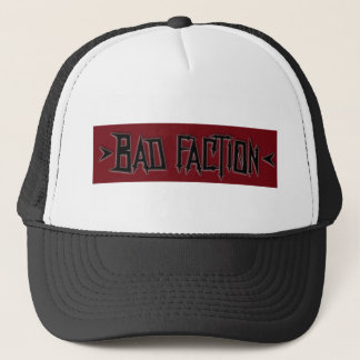 Bad Faction Logo Trucker Hat