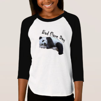 Bad Flare Day Panda girls T-Shirt