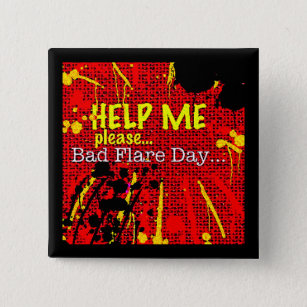 Chronic Fatigue Badges & Pins | Zazzle UK