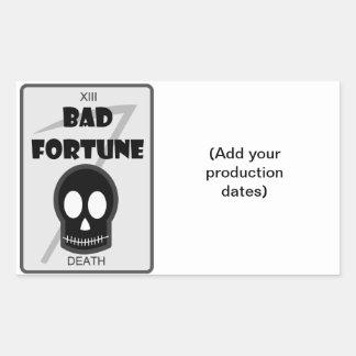 Bad Fortune Sticker