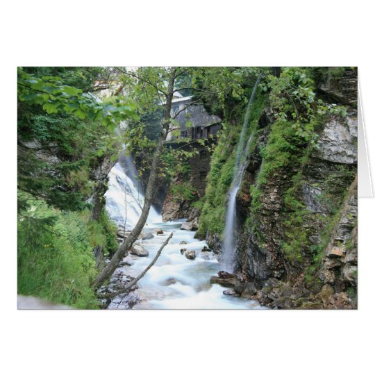 Bad Gastein upper falls Card