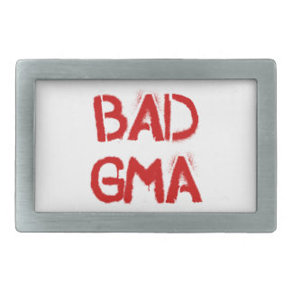 Bad Gma Belt Buckles