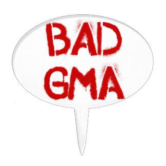 Bad Gma Cake Topper