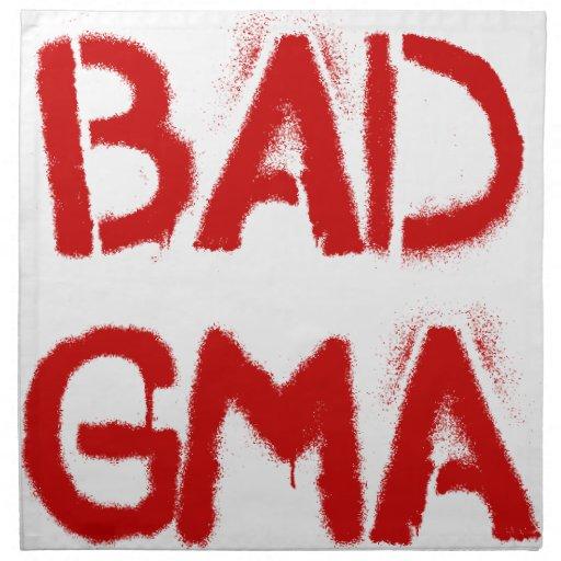 Bad Gma Printed Napkins