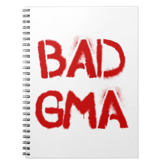 Bad Gma Spiral Notebook