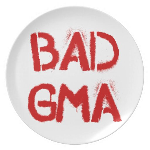 Bad Gma Party Plates