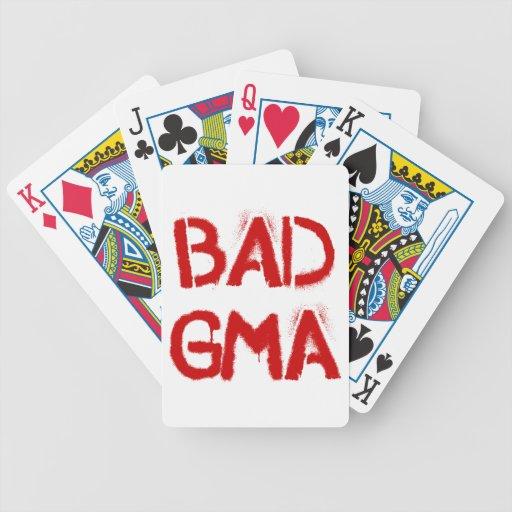 Bad Gma Poker Deck
