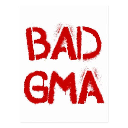 Bad Gma Post Card