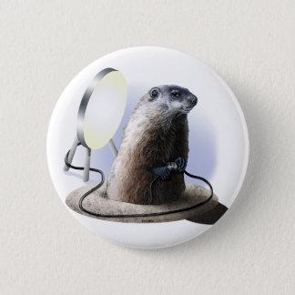 Bad Groundhog 6 Cm Round Badge