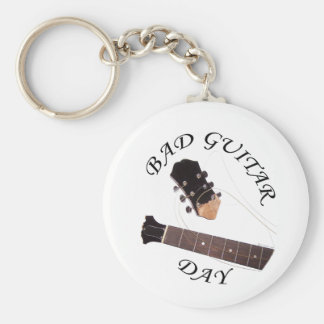 Bad Guitar Day Key Chain