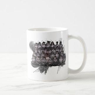 bad hair day basic white mug