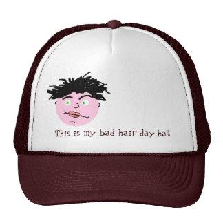 Bad hair day hat -men