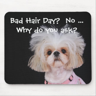Bad Hair Day Mousepads