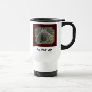 """""""Bad Hair Day!"""" Porcupine Mug"""