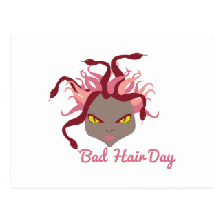 Bad Hair Day Postcard