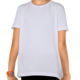 Bad Hair Day Sheepdog Girl's Ringer T T-shirt