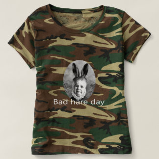 Bad Hare Day Camouflage ladies T-shirt