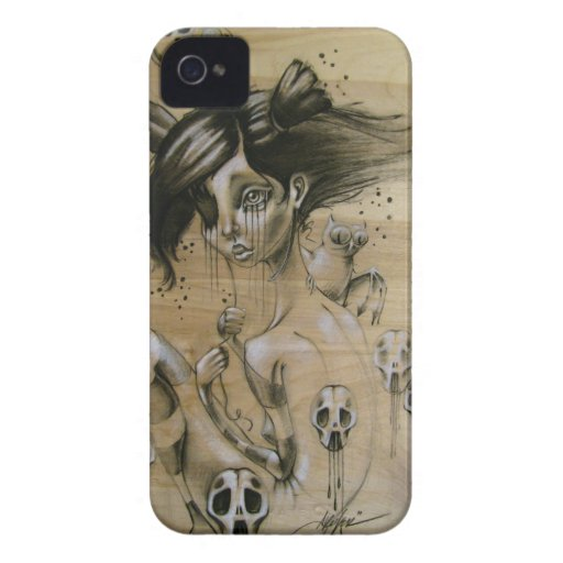 """Bad Memories"" Iphone 4 case"
