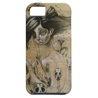 """""""Bad Memories"""" iphone hard case with silicone wrap"""
