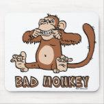Bad Monkey mousepad