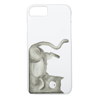 Bad Moody Cat iPhone 7 Case